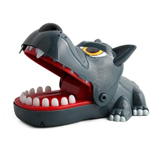 Kongqiabona seltsamer Mann Spielzeug Tischspiele beißen Spielzeug beißen große graue Wölfe