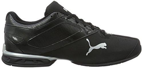 Puma Tazon 6 Fm, Chaussures de Running Compétition Homme Noir (Puma Black-puma Silver 03)