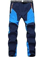 pantalones de lluvia hombre Sannysis pantalones deportivas baratos pantalón impermeables ropa impermeable pantalón de protección impermeable para motocicleta hombre