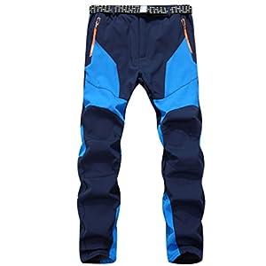 Pantalones de hombre Impermeable A prueba de viento Al aire libre Excursionismo Alpinismo Deportes Calentar Invierno Grueso Táctico Pantalones LMMVP
