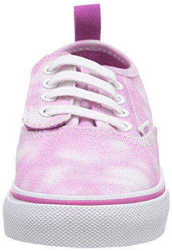 Vans Authentic V Lace Scarpe Primi Passi, Unisex Bimbi 0-24 Rosa (tie Dye/rose Violet)