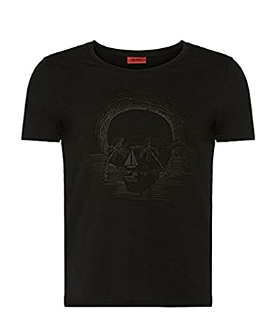 Hugo Boss - T-shirt - Homme Noir Noir