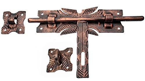 Türriegel Torriegel Schubriegel Torschieber 335 /14 Kupfer Schmiedeeisen