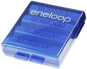 nouveau !!! Sanyo Eneloop - 12 Piles Eneloop HR-12UTGA Type AA (2000 mAh) - The new, improved eneloop avec 1500 charging cycles