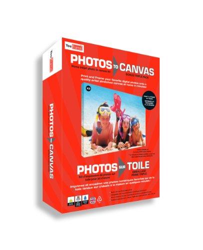 You Frame Photos to Canvas Keilrahmen-Set, zum Aufdrucken von Fotos auf Leinwand, für...
