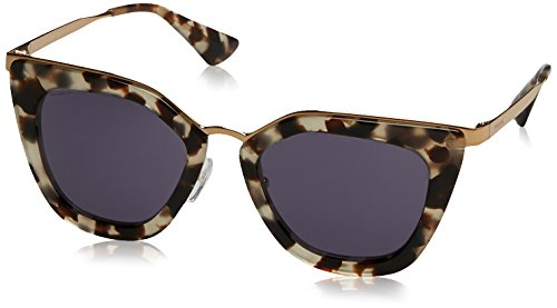Prada Damen 0PR53SS UAO6O2 52 Sonnenbrille, Weiß (White Havana/Violet),
