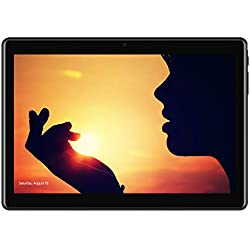 Tablette Tactile 10.1 Pouces 4G DUODUOGO Tablette PC Android 7 avec Dual Carte SIM WiFi Quad Core 2Go RAM Disque Dur 32Go 5MP+8MP Caméra Intégrée Portable Débloqué 4G Tablettes tactiles Pas Cher G10