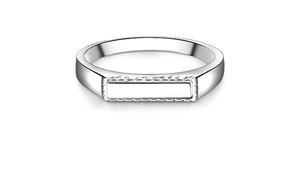 Glanzstücke München Damen Signet Ring aus 925 Sterling