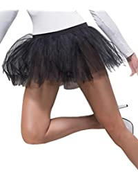 Ladies Adults Hosiery & Footwear Sheer Desires Tutu Womens Underskirt Black