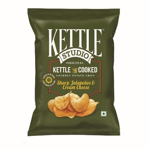 kettle Studio Sharp Jalapeno and Cheese Cream, (Pack of 5)  available at amazon for Rs.161
