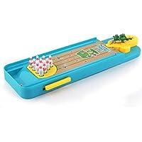 FHJZXDGHNXFGH Mini Frog Bowling Table Toy Ejercicio Coordinación Desarrollar Desarrollo Intelectual Cultivar Conjunto de Habilidades prácticas