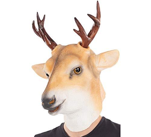 Máscara de Ciervo Marrón