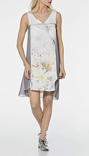 LMV La Mode est à Vous - Robe PRECIEUSE- Femme IMP FLOWER GRIS
