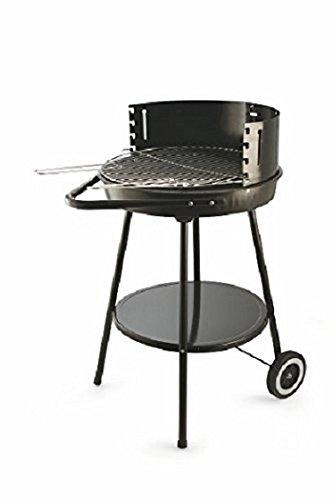 Galileo Casa Barbecue-Grill grün rund mit Reifen 50 x H 85 cm grün