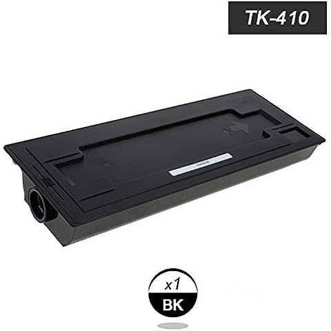 Doree TK-410BK -1Negro cartucho de tóner para Kyocera Mita KM-1620/ 1635/ 2035/ 2050/ 2020/ 2550