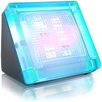 CSL - TV Simulator Fake TV - LED Fernseh Attrappe durch Lichtsimulation zum Einsatz als Einbruchschutz Home Security - 20 farbige LEDs - 3 Programme - Lichtsensor und Zeitschaltuhr