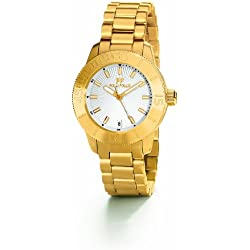 Folli Follie Olyteus Bracelet White Dial Women's Watch - WF8G037BDS