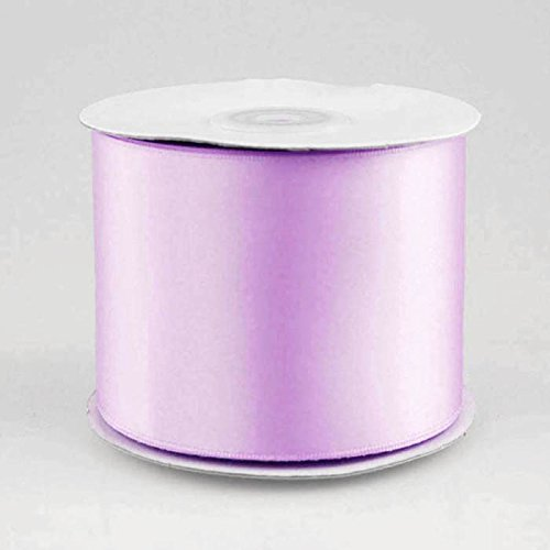 Double Face Satin Ribbon, 2-1/2-inch, 25-yard (Lavender) by Party Spin (Spin Satin)