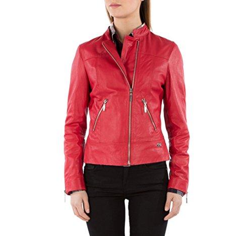 WITTCHEN Mantel für Damen Damenmantel, Wolle, Rot, Größe:M, 82-09-502-3-M