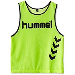 Hummel Fundamental Training - Camiseta de entrenamiento para niños, color neon yellow, talla 8/128