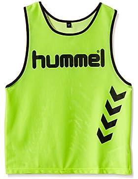 Hummel Fundamental Training - Camiseta de entrenamiento para niños, color neon yellow, talla 8/128