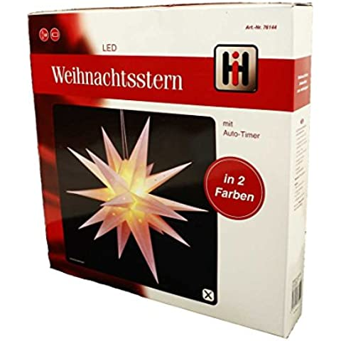 HAAC LED stella con 12LED a luce