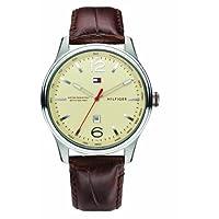 Reloj Tommy Hilfiger 1710315 de cuarzo para hombre con correa de piel, color marrón de Tommy Hilfiger