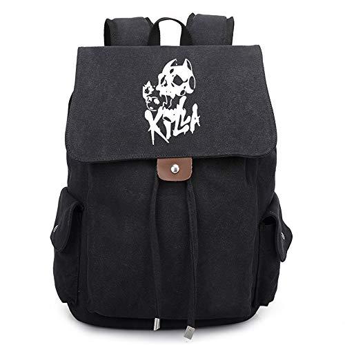 Muster Kostüm Joseph - JoJo's Bizarre Adventure Anime Kordelzug Rucksack Daypack Laptop Tasche Umhängetasche College Bag Book Bag Schultasche
