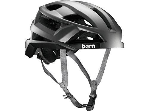 Bern FL-1 Pavé MIPS Satin Casco de Ciclismo, Unisex, Plateado, Medium