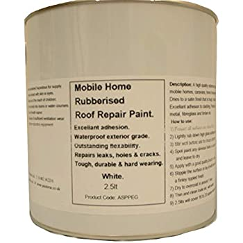1 X 500ml Repair Leaking Roof Paint For Mobile Home