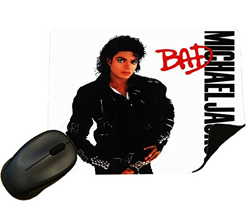 Eclipse-bad (Michael Jackson Bad Album cover Mouse Mat / Pad - By Eclipse Gift Ideas)