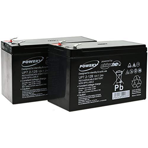 akku-net Blei-Gel-Akku für USV APC Smart-UPS SC 1000-2U Rackmount/Tower, 12V, Lead-Acid - 2u-usv-batterie