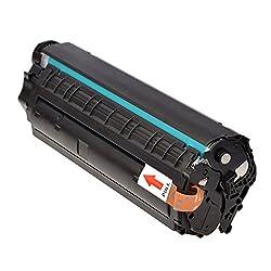 Prash 12A Compatible Toner Cartridge For Hp Laserjet - 1010, 1012, 1015, 1018, 1020, 1022, 1022N, 3020, 3030, 3050, 3052, 3055, M1005, M1319F (Black) (Q2612A)