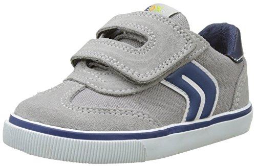 Geox B Kiwi BOY E, Zapatillas para Bebés, Gris (Grey / Navy...