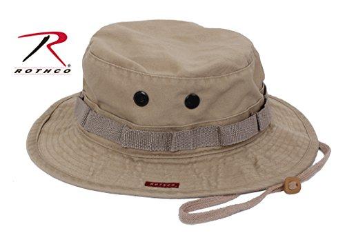 Rothco Herren Militär Hat-Boonie Hat Vintage grün khaki 7.75 - Rothco Grün