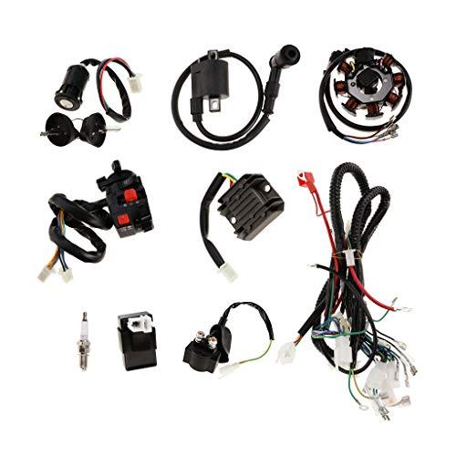 KESOTO Faisceau De Cables Electrique Complet Cdi pour VTT Quad Dirt Bike 150-250cc