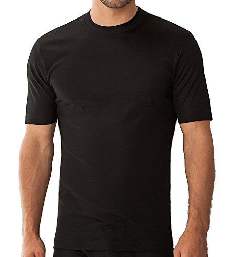 Zimmerli Business Class T-Shirt SS 2205126 Herren Shirt, black Black