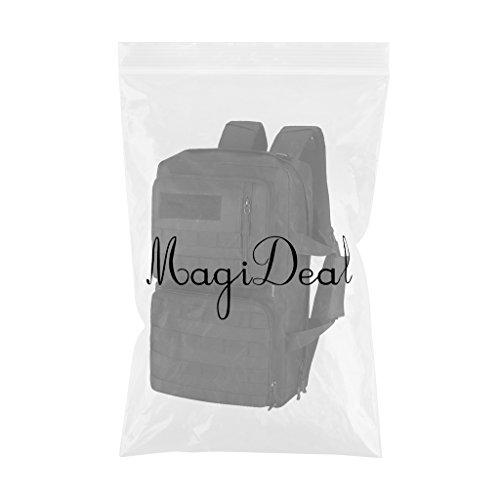 MagiDeal 35 Liter Taktischer Molle Wanderrucksack, Trekkingrucksack, Schultertasche Backpack, Handtasche - als Computer Tasche Schwarz