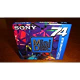 SONY MDW-74AL 74 min MiniDisc Limited Colour Collection Sapphire Blue