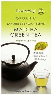 Clearspring Thé Vert Matcha et Sencha Bio 100 g