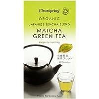 Clearspring - Té Verde Japonés Bio con Matcha - 20 bolsitas - 40 g