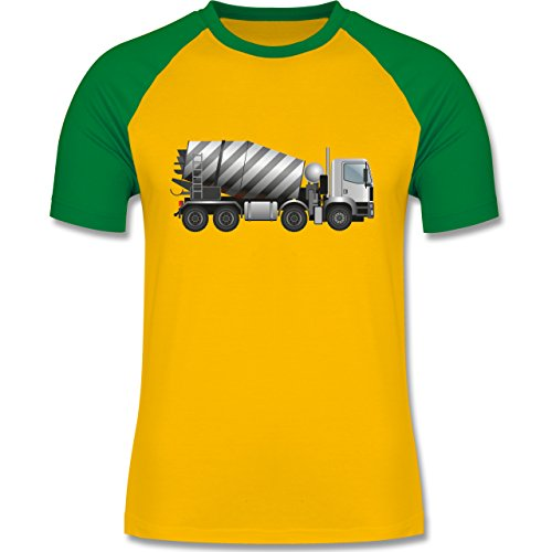 andere-fahrzeuge-betonmischer-fahrmischer-l-gelb-grun-l140-zweifarbiges-baseballshirt-fur-manner