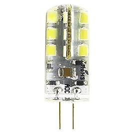 1 Pezzo Lampada LED G4 3.5 W, Bianco freddo 6000K lampadine a LED, 24 LED SMD 2835 angolo di illuminazione 360 °, AC/DC…