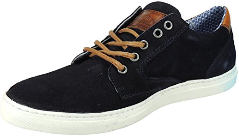 D J Santa. Zapato Casual Piel Nobuk y Cosido con Piso Blanco para Hombre - Modelo 2569