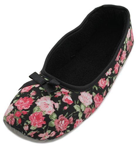 Slumberzzz, Pantofole Da Donna Nere