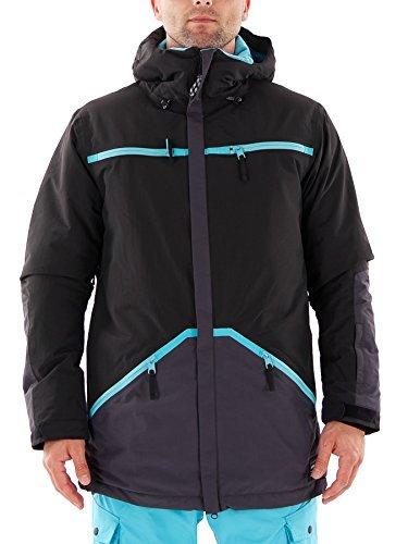 O'Neill Skijacke Winterjacke Altitude grau Thinsulate wasserdicht (M)