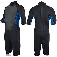 Realon Traje de Neopreno para niños Buceo Surf Snorkel Dive 3 mm Premium  Neopreno Lycra 2ddd3d43a1d