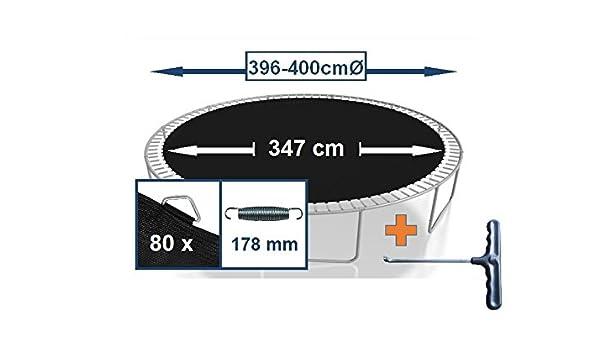 Trampolin Sprungfedern 64 Stück Trampolinfedern Federn 13,5 cm oder 16,5 cm