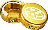 Reverse Griff Endkappen geschlossen 2 Stück gold