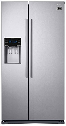 Samsung RS53K4400SA / EG Side-by-Side Kühlschrank / A+ / 178.9 cm / 442 kWh / Jahr / 361 L Kühlteil / 537 L Gefrierteil / Kühl- und Gefrierteil getrennt regelbar Eis Kühlschrank
